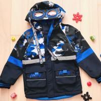 Куртка двухсторонняя DHB Fashion (104-128) D-11