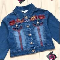 Пиджак джинсовый ModaLora (134-164) 560245