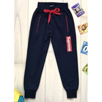 Спортивные штаны Supreme (116-134) 8802