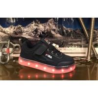 Кроссовки светящиеся Bessky (27-32) B8993-3A
